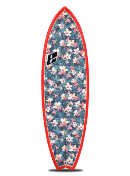 Lovely Boards Fish Tropic Floral
